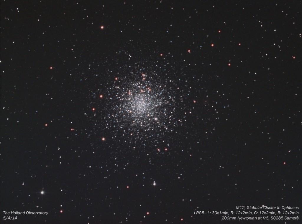 M12 - Globular Cluster in Ophiucus