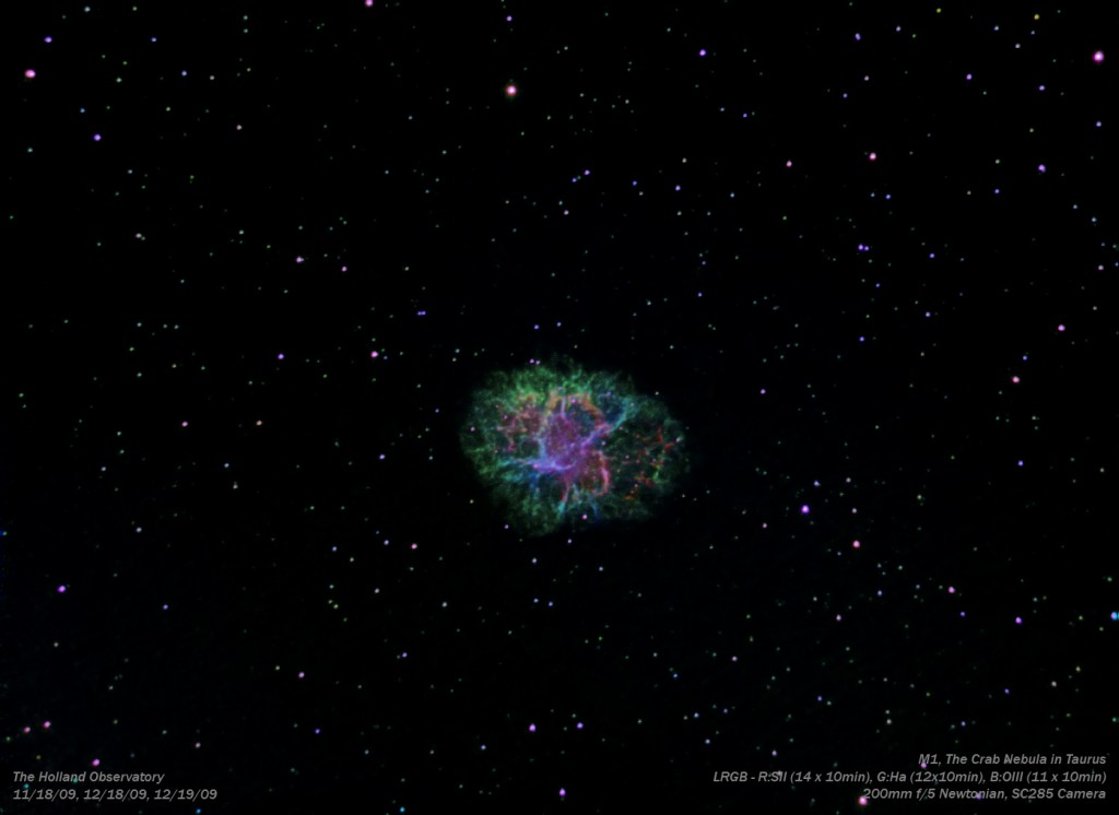 M1 - Crab Nebula in Taurus