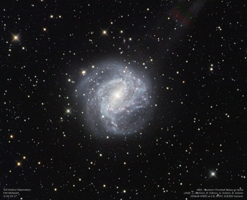 M83 - Southern Pinwheel Galaxy in Hydra