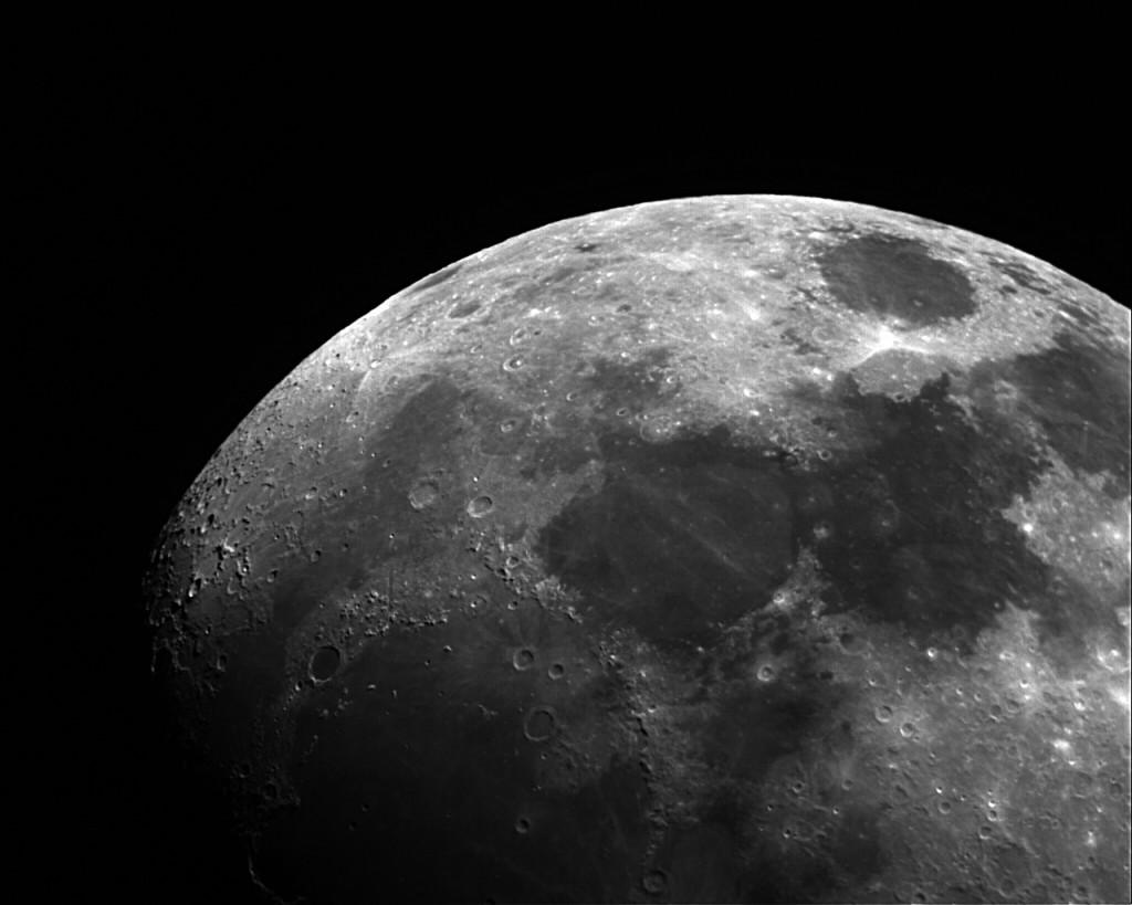 The Moon - SC2 Camera