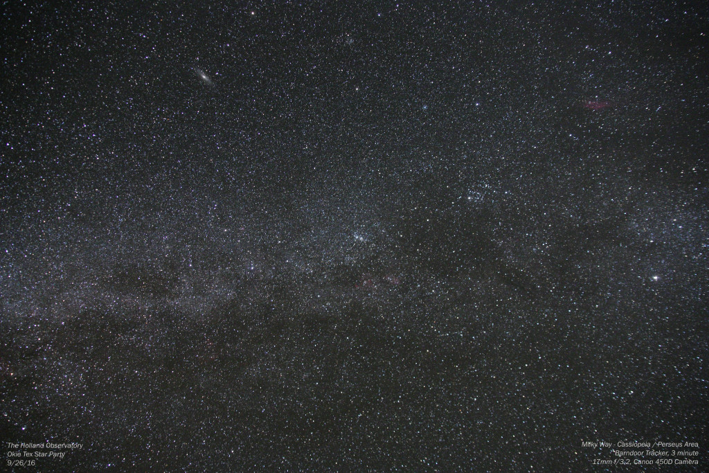 Milky Way - Cassiopeia / Perseus Area