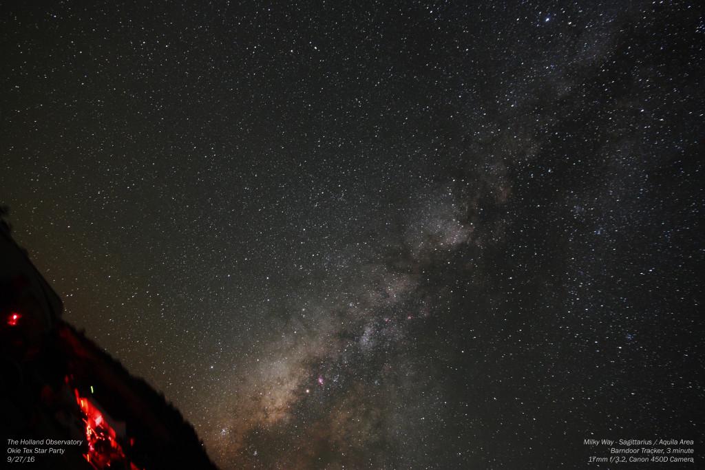 Milky Way - Sagittarius / Aquila Area