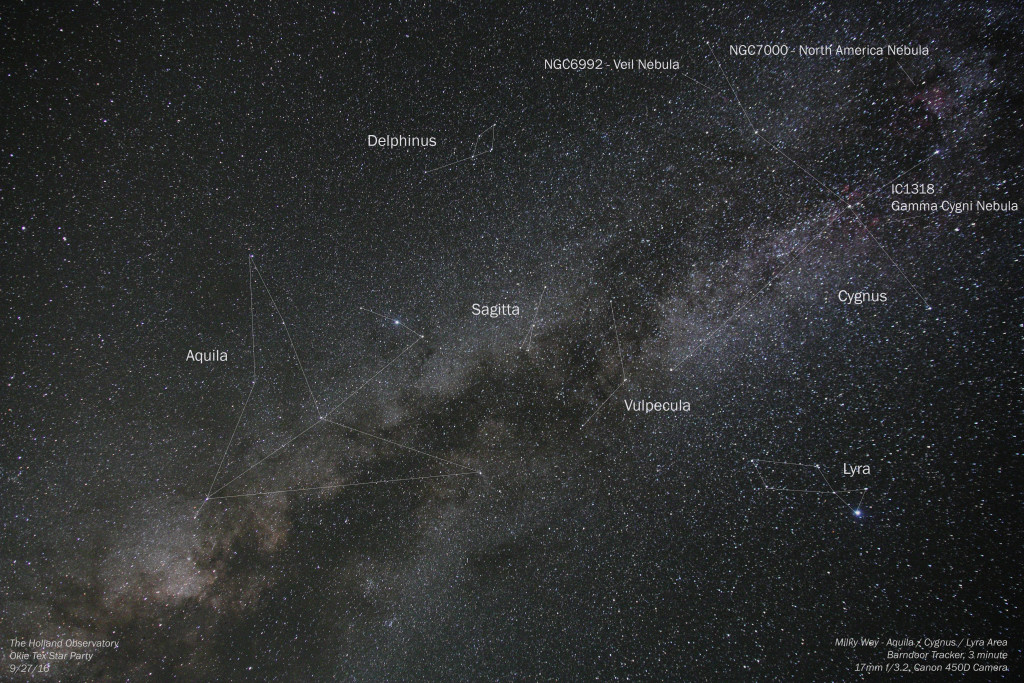 Milky Way - Aquila / Cygnus / Lyra Area