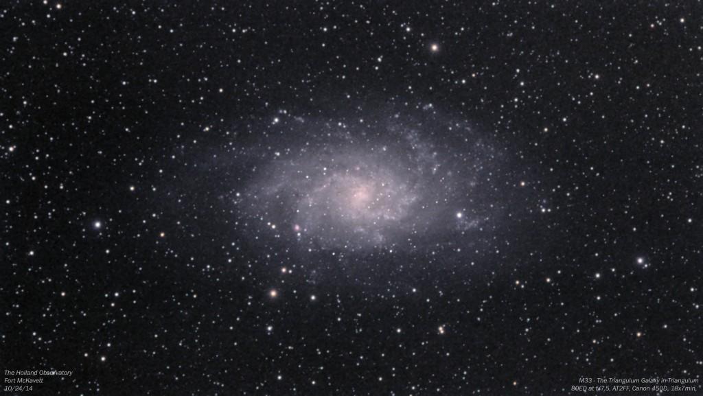 M33 - Triangulum Galaxy in Triangulum