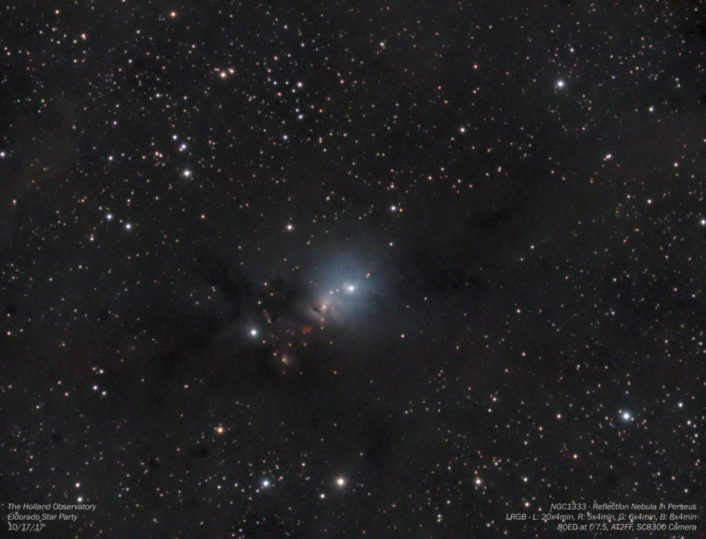 NGC1333 - Reflection Nebula in Perseus