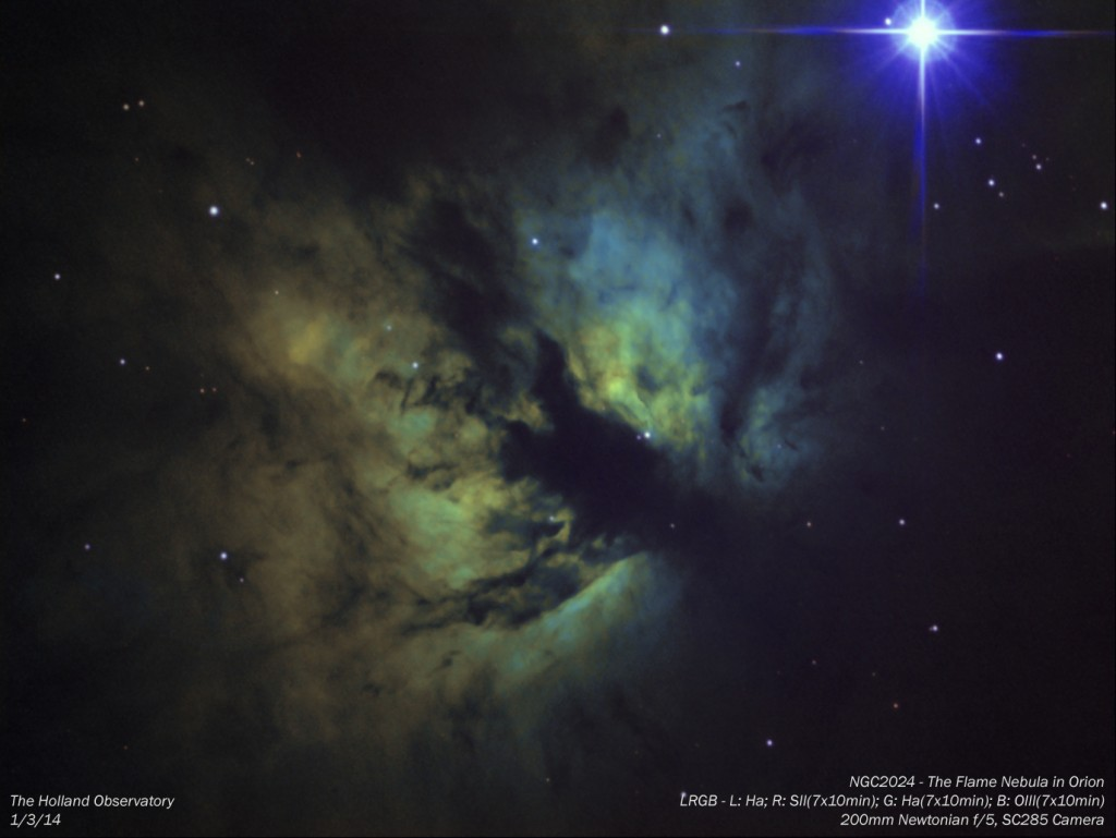 NGC2024 -Flame Nebula in Orion