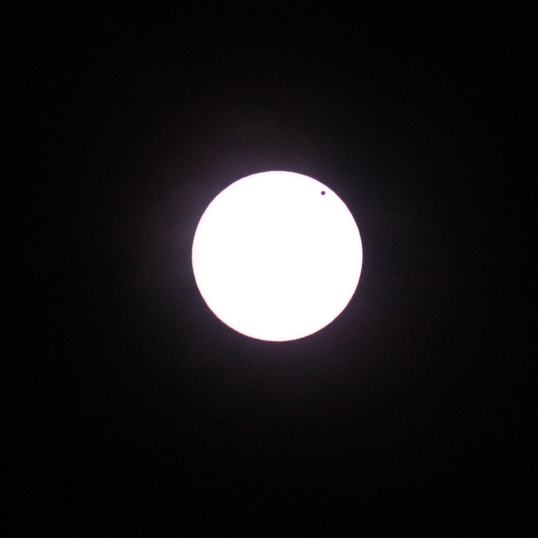 Venus Transit - 6/5/12, 200mm Lens, f/5.6, 1/1000th Sec, Canon 300D